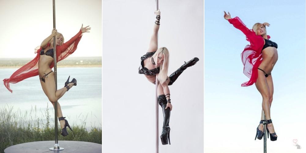 Sexy Pole Dancer Anastasia Sokolova