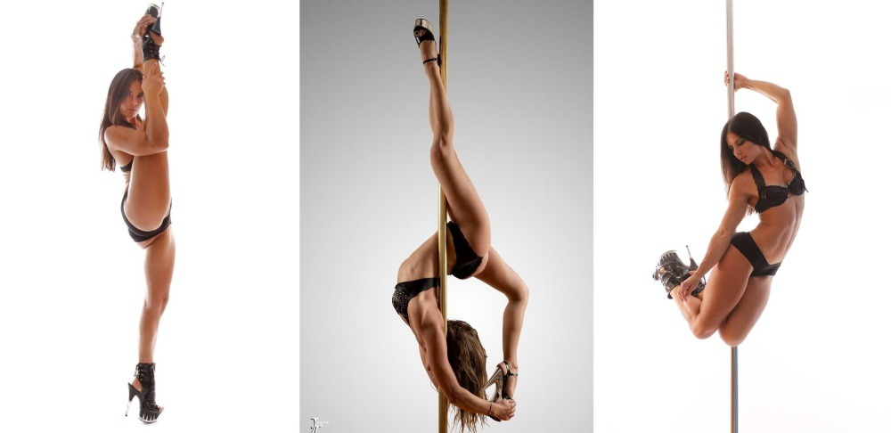 Pole Dancer Mischelle Shimmy