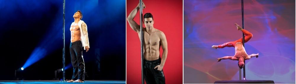 Saulo Sarmiento pole dancer