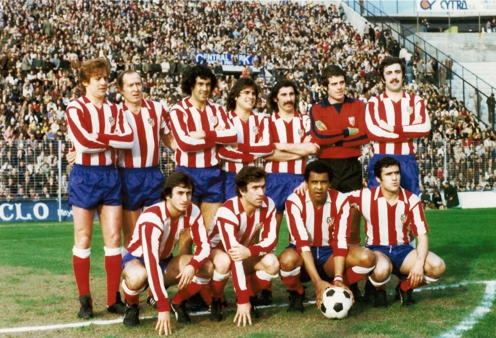 Football club Atletico Madrid in the 70s