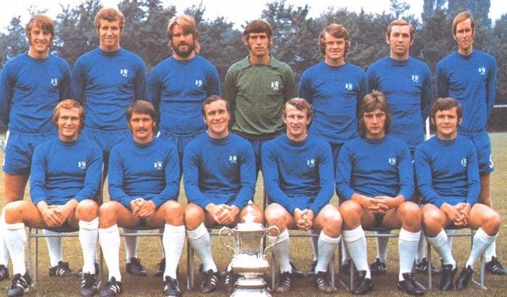 Football club Chelsea in 1968