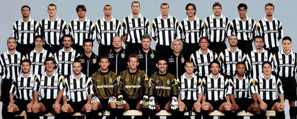 Juventus squad in 2000-2001