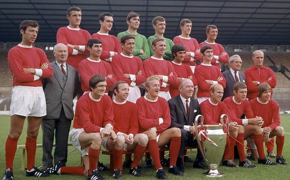 Manchester United winner of the 1968 European Cup