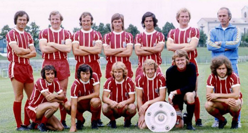 Football club Bayern Munich in 1973