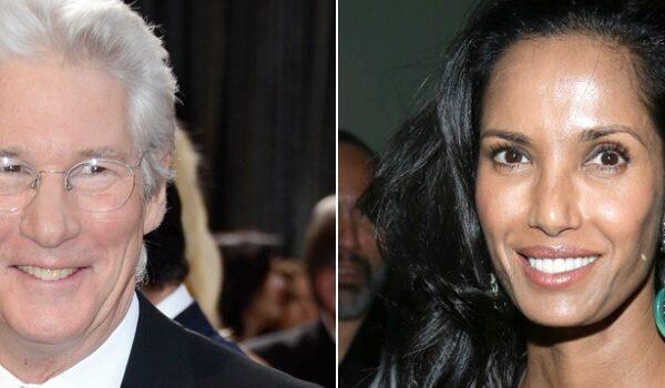 Padma Lakshmi and Richard Gere