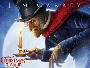 Jim Carrey,movie Christmas Carol
