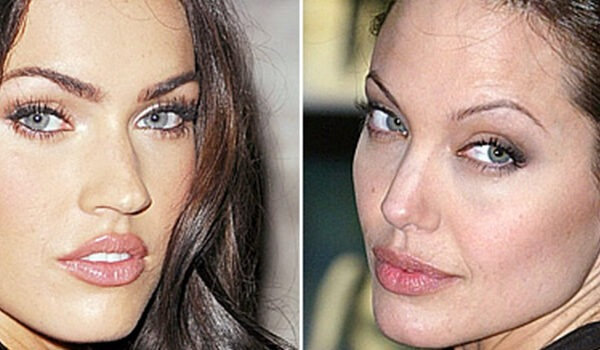 Megan Fox and Angelina Jolie