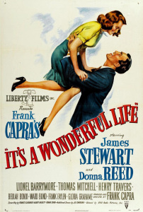 movie poster, It's a wonderful life