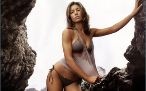 Jessica Biel posing