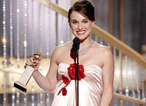 Natalie Portman at Golden Globe