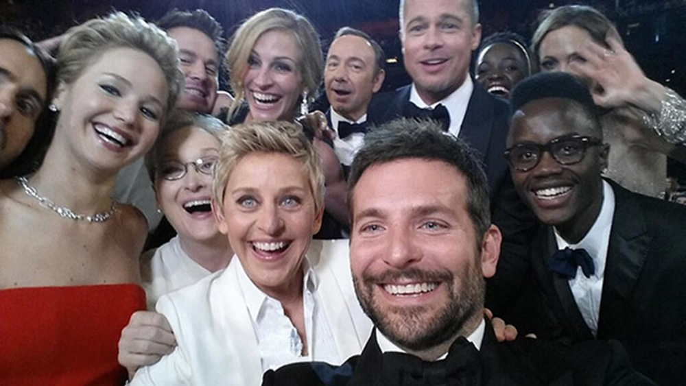 oscar selfie, hollywood actors