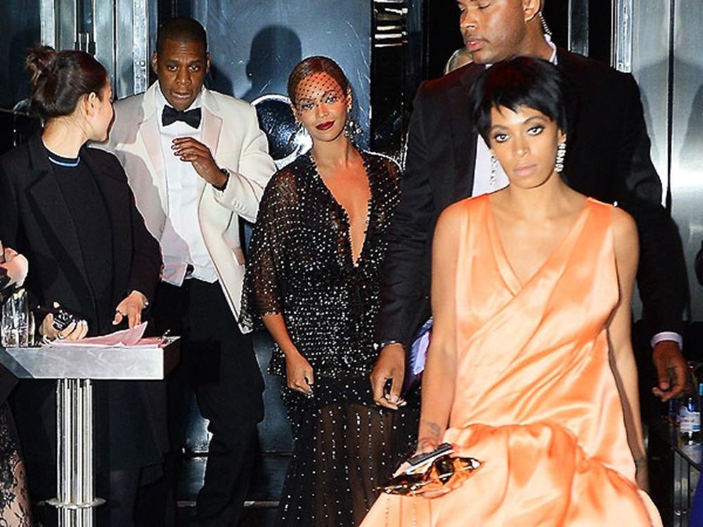 Jay Z, Solange, elevator attack