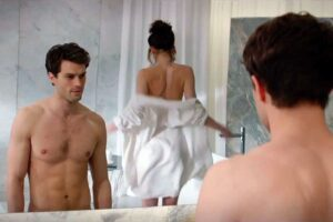 showering scene from movie fifty shades of grey