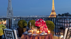 four season paris, terrace
