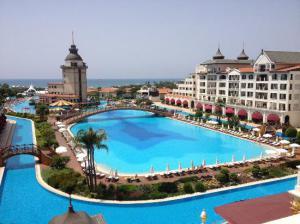 biggest pool, Mardan Palace, Turkey