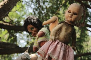 haunted place, Xochimilco, Dolls Island
