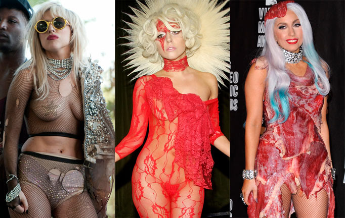 Top 6 Lady Gaga Unbearably Outfits6toplists
