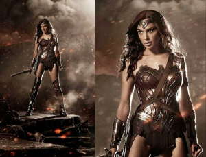 Gal Gadot Wonder Woman First Picture Sexy (2017)