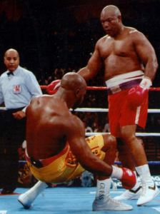 George Foreman vs Michael Moorer
