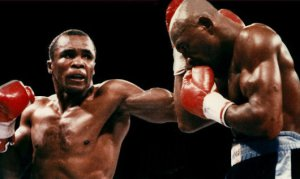 Sugar Ray Leonard vs Marvelous Marvin Hagler