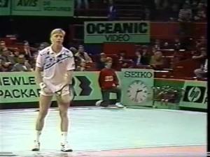 Becker vs McEnroe