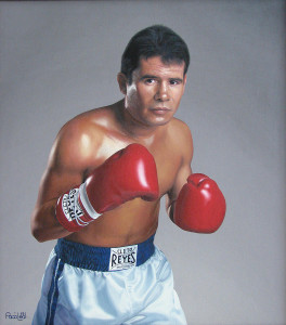 Julio Cesar Chavez, retired boxer