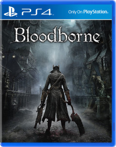 PS4 game, Bloodborne cover