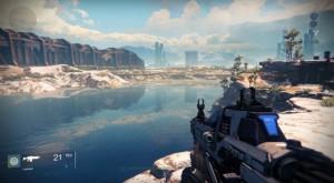 screenshot from game, Destiny