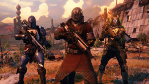 Destiny ps4 game characters