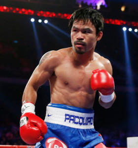 Manny Pacquiao, boxer, actor, singer