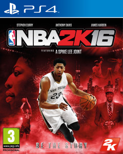 cover image, NBA 2k16