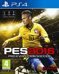 soccer game, pes 2016 cover