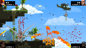 map, broforce
