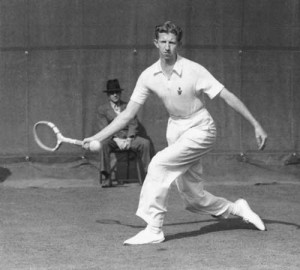 tennis player, Donald Budge