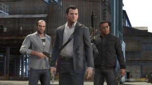 gta 5 ps4 game, characters