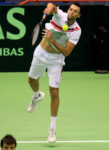 Ivo Karlovic, tallest tennis player