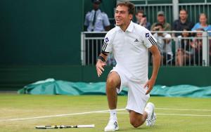 tallest tennis player, jerzy janowicz