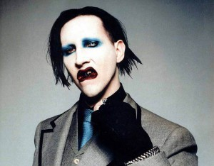 superstar Marilyn Manson