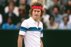 best tennis player, John McEnroe