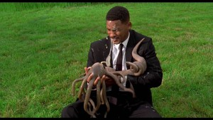 MIB, Will Smith with alien