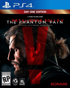 front cover, ps4 game