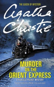 book cover, Murder on the Orient Express