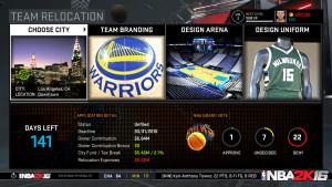 NBA 2k16 manager mode