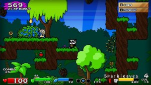 screenshot, Super Panda Adventures