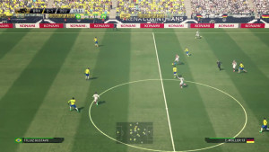 screenshot from the game, PES 2016