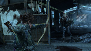 zombie attack, the last of us
