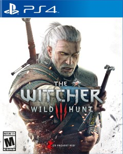 PS4 game, The witcher 3