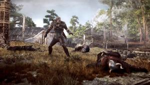 fight screenshot, The Witcher 3: Wild Hunt