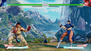 game screenshot, sf5