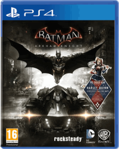 ps4 game, Batman Arkham Knight